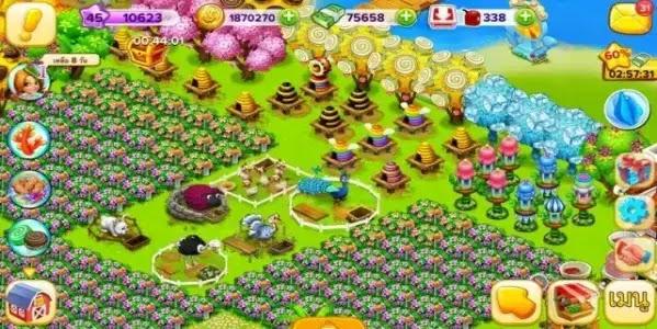 لعبة family farm