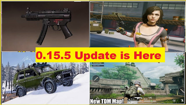 PUBG Mobile 0.15.5 update Coming Date and more