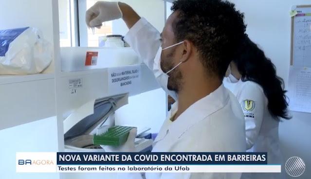 Barreiras registra novos casos de variantes de COVID-19