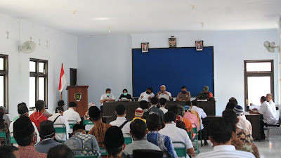 Tim Gugus Tugas Covid-19 Kecamatan Pituruh Gelar Sidang Permohonan Penyelenggaraan Hajatan