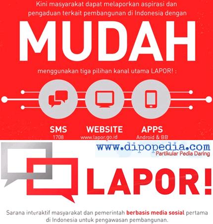 Ilustrasi Tips MeLAPORkan Aspirasi Ke Instansi Pemerintah Indonesia - Dipopedia