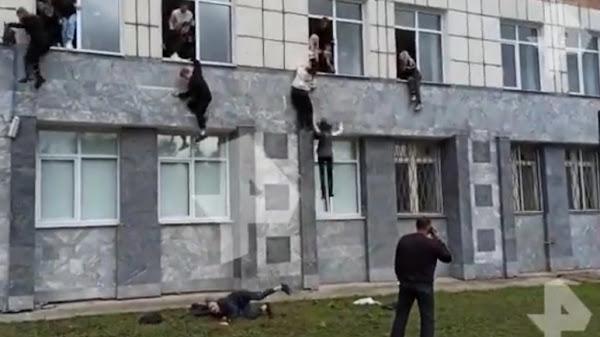 Ρωσία: Πανικός σε πανεπιστήμιο από επίθεση ενόπλου – Πηδούν από τα παράθυρα για να σωθούν