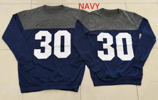 Jual Online Sweater Converse Navy Murah Jakarta Bahan Babytery Terbaru