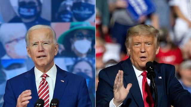 Biden lidera los sondeos mientras Trump arrecia su campaña electoral