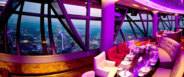 Atmosphere 360 Revolving Restaurant in KL Tower