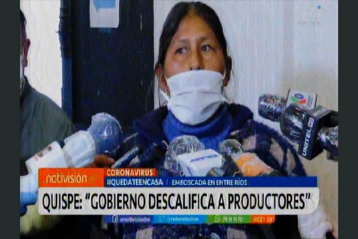 Narcotráfico: Juana Quispe asegura que es una autoridad honesta y limpia