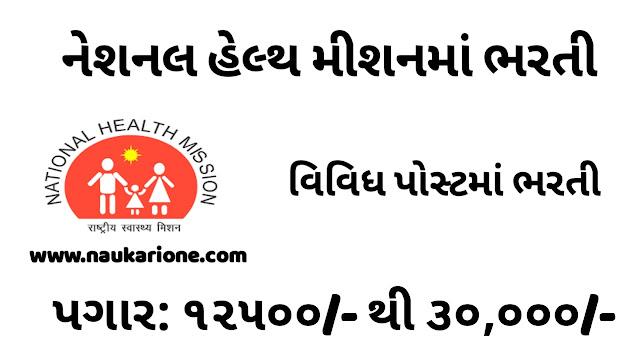 National Health Mission (NHM), Valsad Recruitment for Various Posts 2021National Health Mission (NHM), Valsad Recruitment for Various Posts 2021