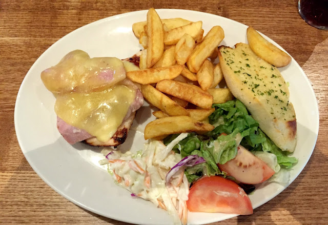 Smothered Chicken main meal Brewers Fayre Derwent Crossing