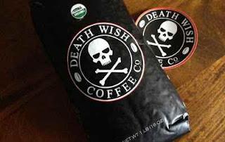 """قهـوة """"رغبة الموت"""" أو """"تمني الموت"""" او """"Death Wish Coffee"""""""