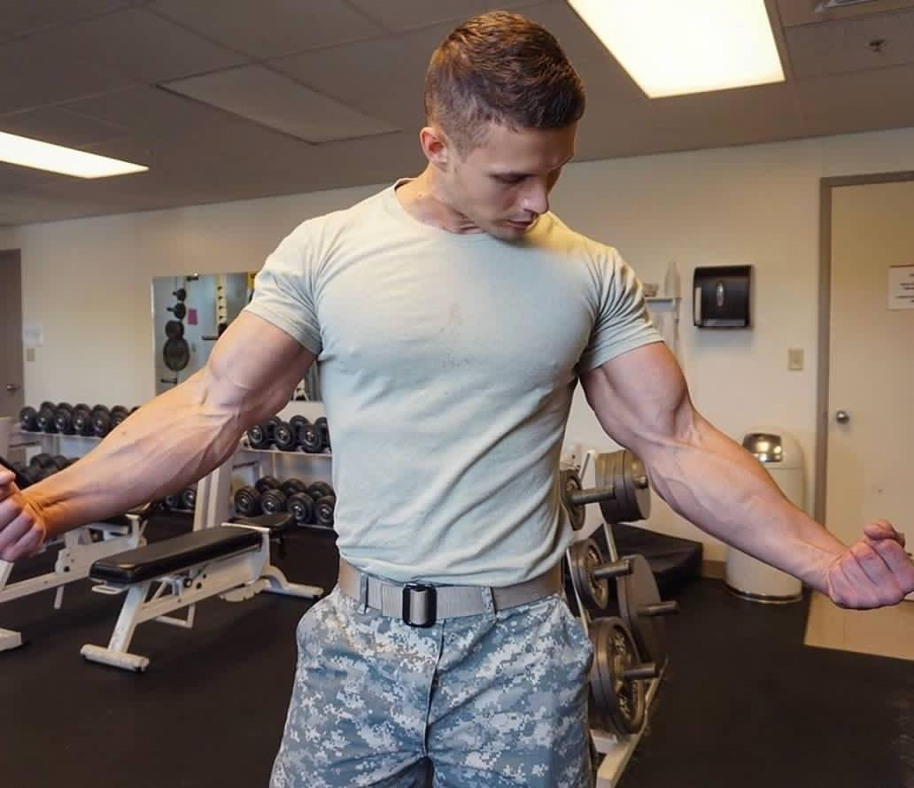attractive-military-uniform-alpha-male-soldier-huge-veiny-arms-flex-hunk