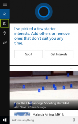 icon Notebook pada Windows 10