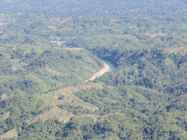 Sangu River from the top of Nilgiri, Bandarban