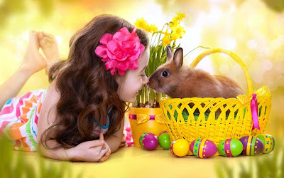 Cute-Little-Girl-With-Rabbit-Images