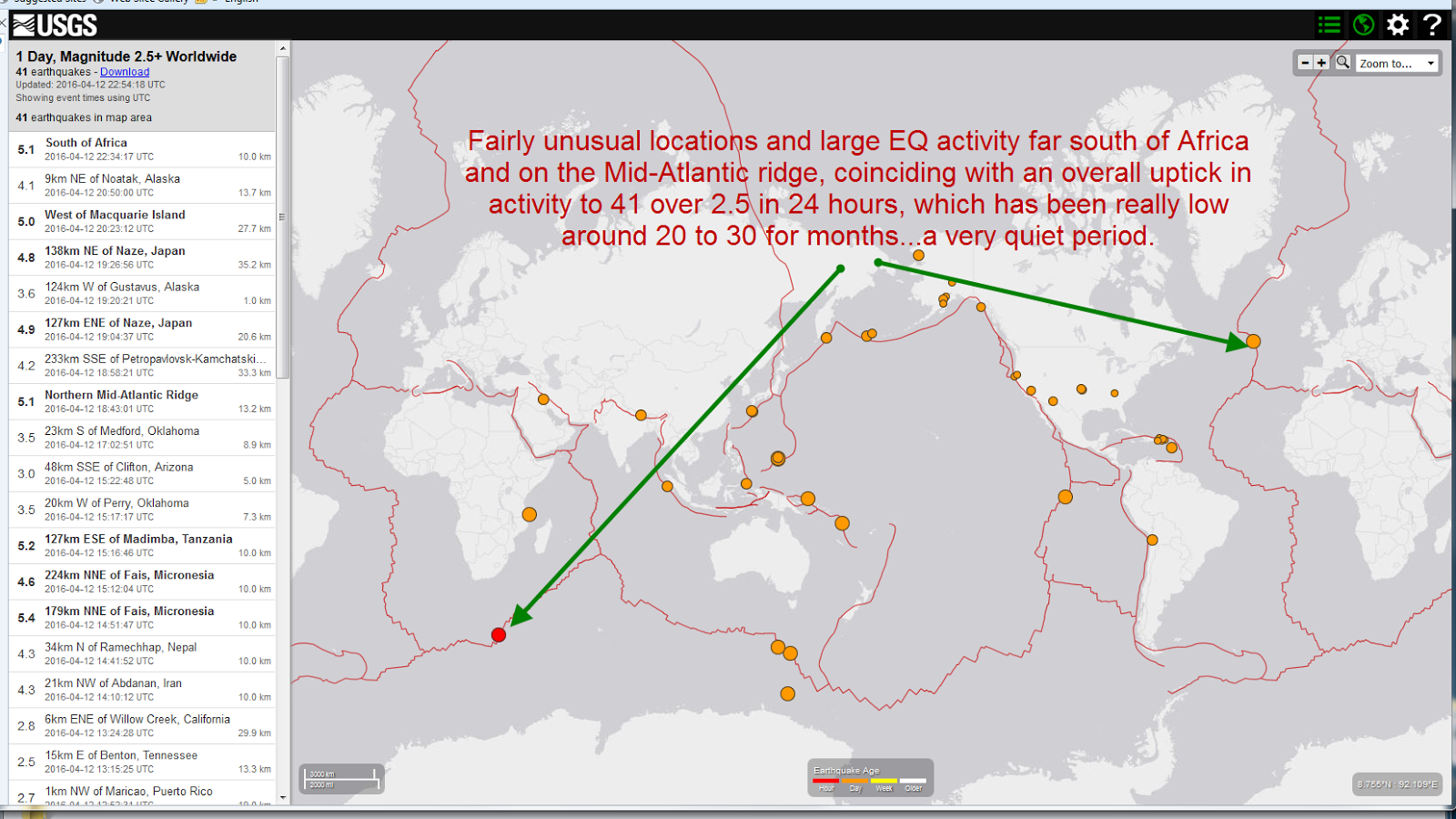 Nuke Pro Earthquake Alert Change In Activity Risk Of Swarms Monster Earthquakes Is Elevated