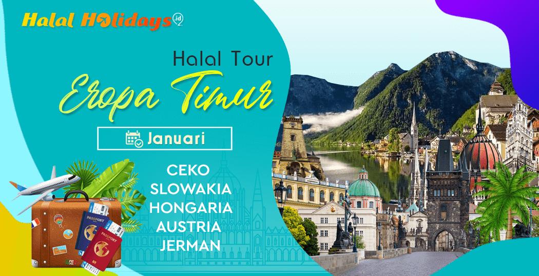 Paket Tour Eropa Timur Murah Bulan Januari Awal Tahun 2021