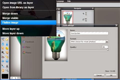 Manipulasi Foto dengan pixlr