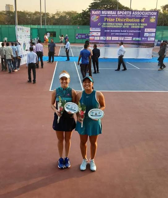 Jessy Rompies/Berfu Cengiz Runner Up ITF Womens Circuit Mumbai 25K