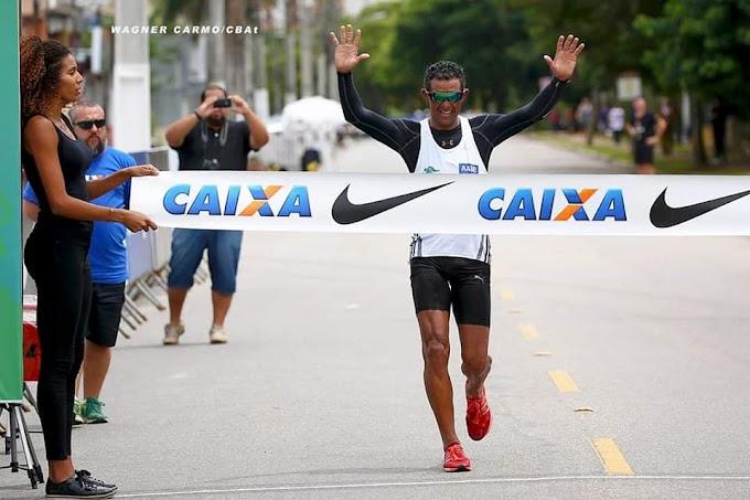 O Curraisnovense Cláudio Richardson se prepara para o Troféu Brasil de Atletismo