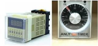 Timer digital dan analog
