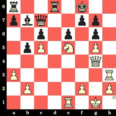 Les Blancs jouent et matent en 4 coups - Kick Langeweg vs Franz Auer, Brunnen, 1966
