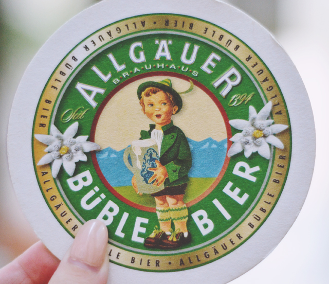 German bier beer mat