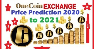 onecoin 2021 price