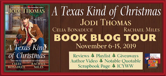 A Texas Kind of Christmas book blog tour promotion banner