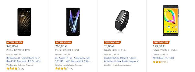 Mejores ofertas Días de móviles y wearables de Amazon