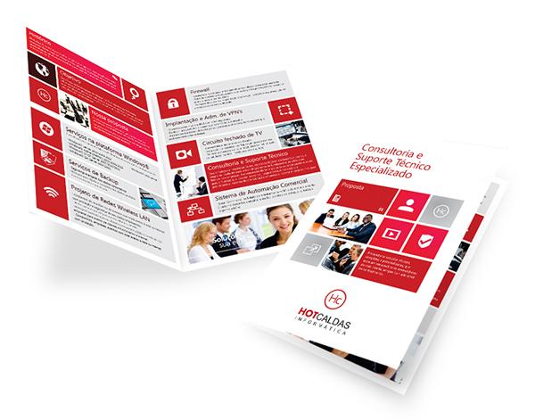 folder criativo - Panfletos e folders combinados para ter melhores resultados
