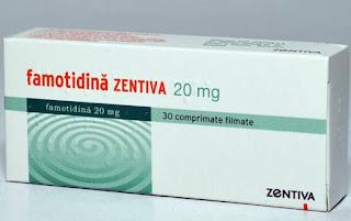 pareri Famotidina Zentiva 20mg forum tratament ulcer gastroduodenal