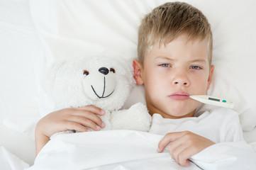 دور الأم فى علاج ارتفاع درجة الحرارة عند الأطفال