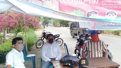 Penjagaan Posko di Silawai Timur, Pintu Masuk Menuju Kawasan Air Bangis Ditutup untuk Kunjungan Wisata