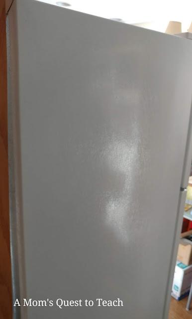 white fridge side