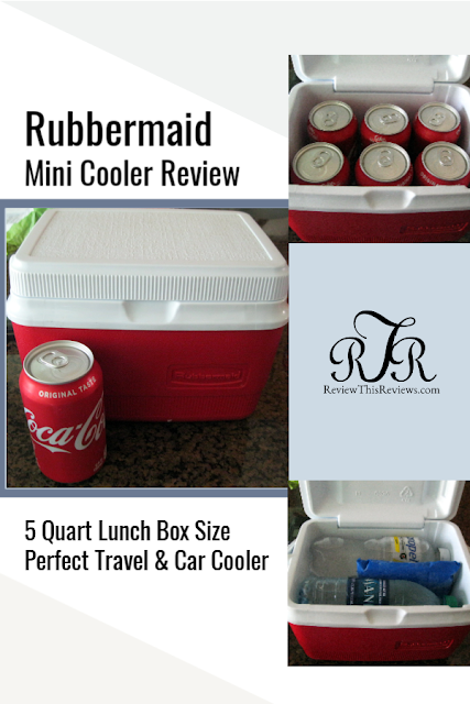 Rubbermaid Mini Cooler Review