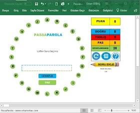 PassaParola Oyunu – İndir Doyasıya Oyna