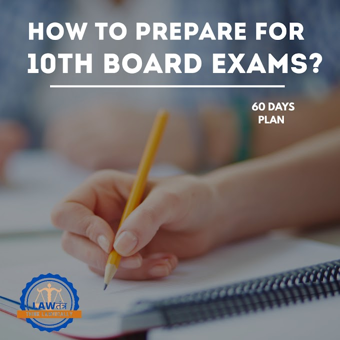 "How to Prepare for 10th Board Exams 2021 ""60 DAYS PLAN""?"
