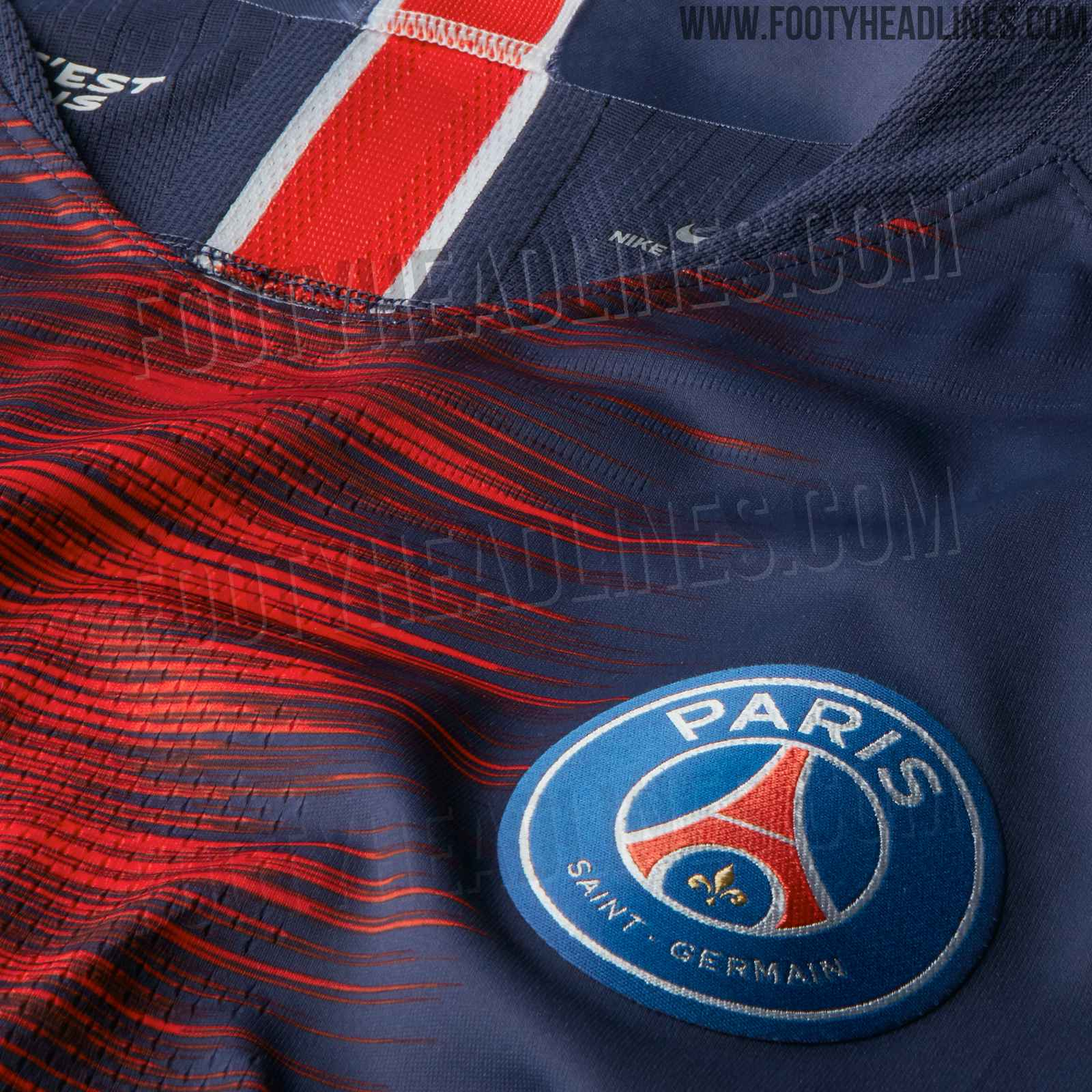 5c5259627 PSG's 18-19 home kit will introduce a modern interpretation of the iconic  Hechter shirt. Produced by long-term jersey supplier Nike and expected to  feature ...
