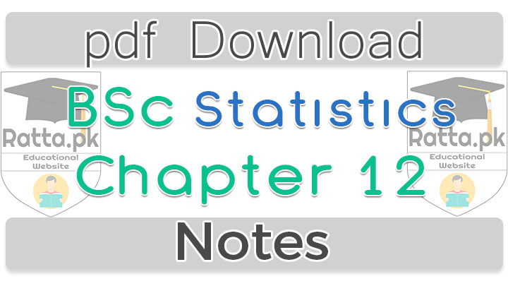 Bsc Statistics Chapter 12 Curve Fitting by Least Squares Notes pdf