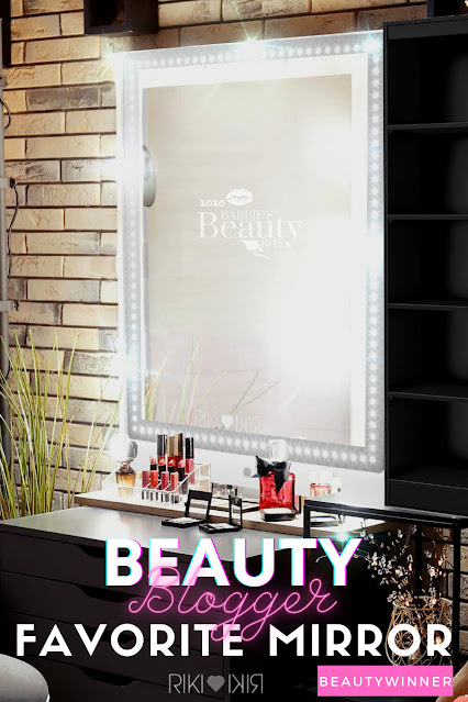 Beauty Blogger's Favorite LED Vanity Mirror From Riki Loves Riki, By Top Beauty Blogger Barbie's Beauty Bits
