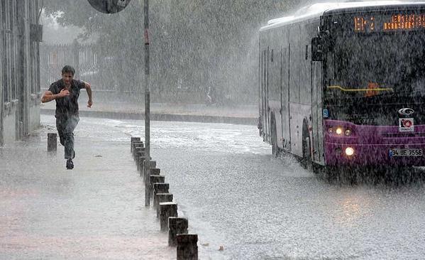 أمطار غزيرة في اسطنبول