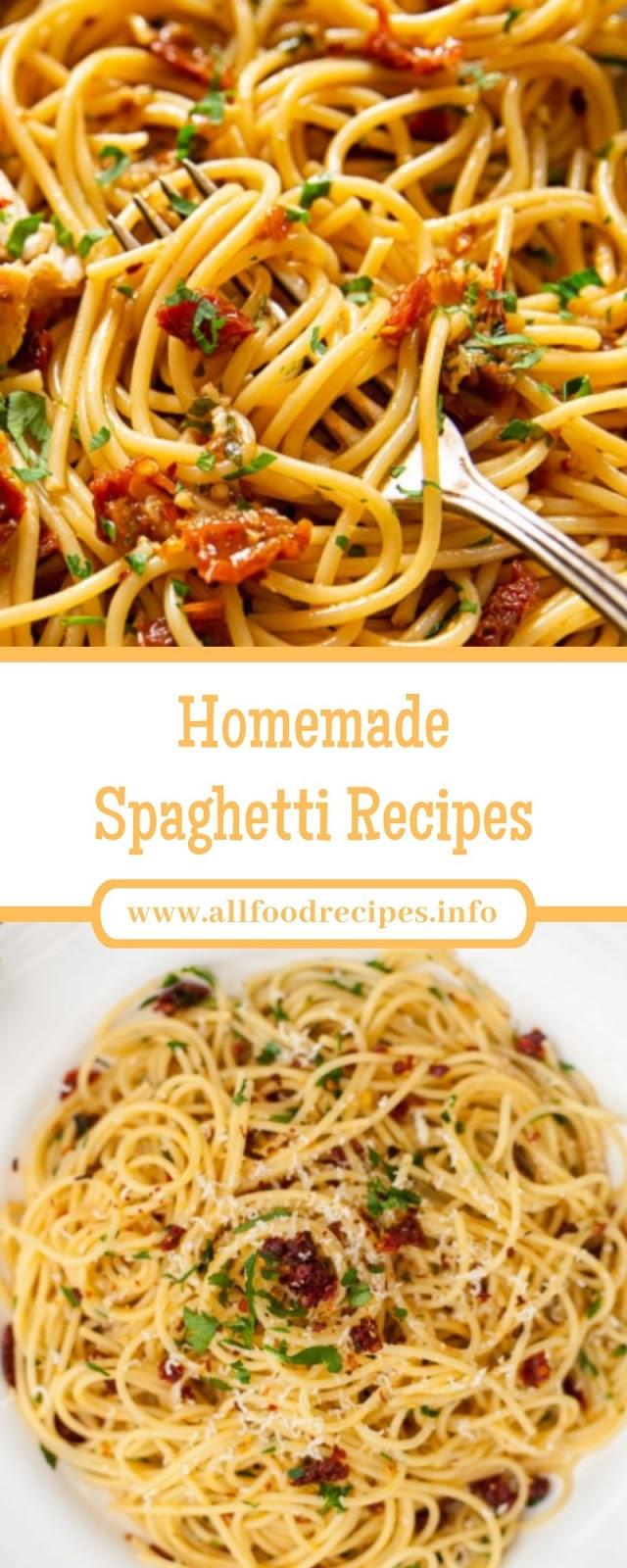 Homemade Spaghetti Recipes