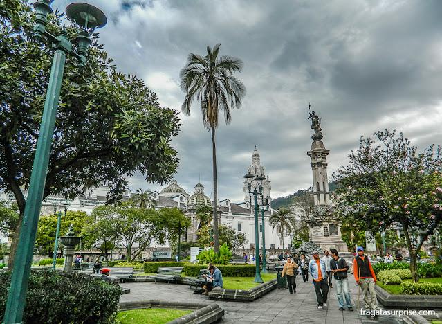 Plaza de la Independencia, Centro Histórico de Quito, Equador