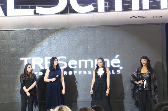 Ayla Dimitri Kelly Tandiono juri tresemme runway collection