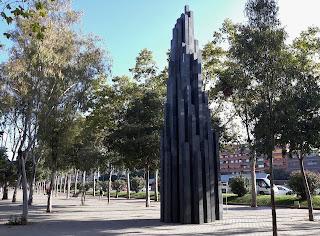 Escultura Alta progressió irregular Atentat Hipercor