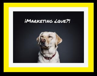 Imagen de un perro intrigado por eso.. del marketing online