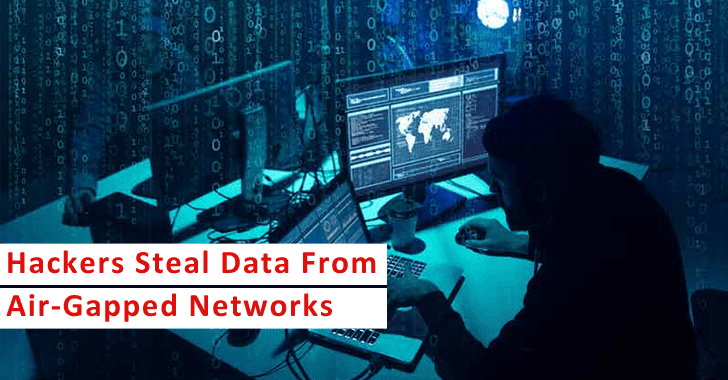 New Attack Let Hackers Steal Data From Air-Gapped Networks Using Ethernet Cable