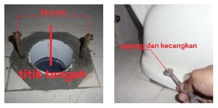 Cara Memasang Toilet Duduk Yang Baik Dan Benar