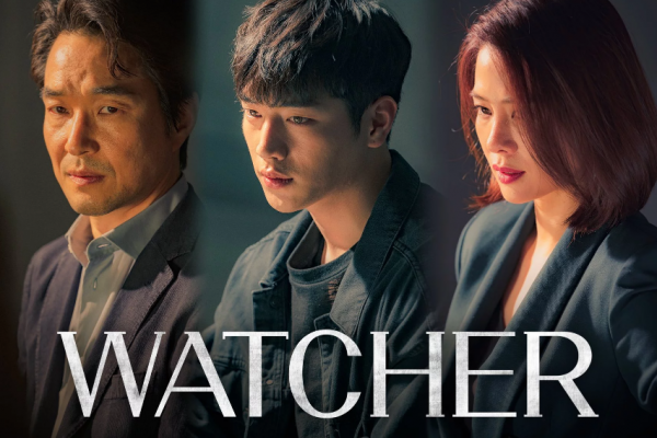 watcher, korean drana, detective, 3 person