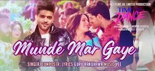Munde Mar Gaye Lyrics - Time To Dance