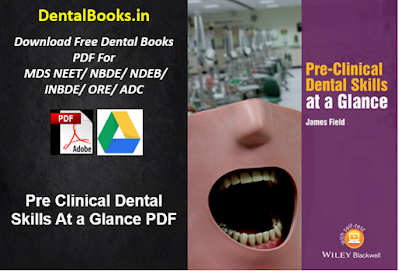 Pre Clinical Dental Skills At a Glance PDF